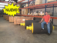 Motorized Pulleys in stock at Wilmington, NC
