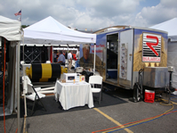 Rulmeca and Kerco joint booth at Bluefield Coal Show 2009