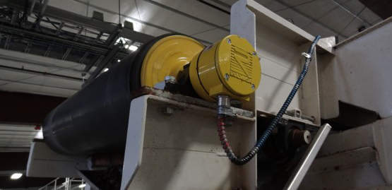 potato handling roller conveyor motor