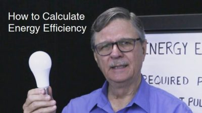 How to Calculate Energy Efficiency