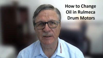 How to Change Small Drum Motor Oil